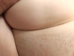 Backdoor hole of very cute slut is destroyed by huge penis